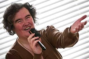 Susan Boyle, whose performance on the television show \\\\\