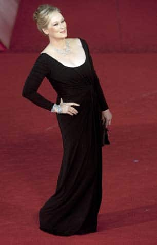 Meryl Streep, receiving a lifetime achievement award in Rome, in October 2009. She made accents part of the craft. (Andrew Medichini/Associated Press)