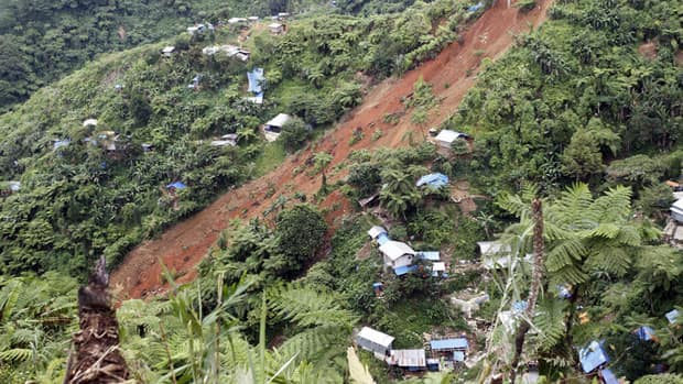 effects of landslide � effects of illegal logging and