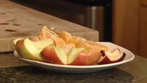 Some organic apples that were tested by the CFIA in 2009 and 2010 contained the residue of more than one type of pesticide, according to documents obtained by CBC News.