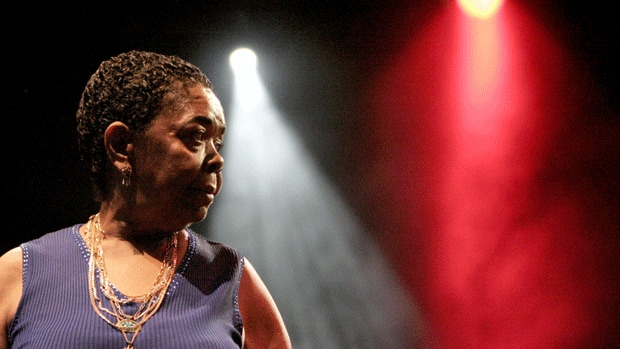 Cesaria Evora performed barefoot wherever she went.