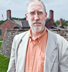 Historian Alan Taylor, author of The Civil War of 1812, at Fort York in Toronto, June 12.