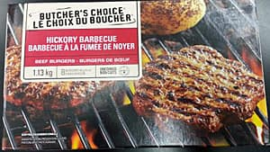 Butcher's Choice Hickory Barbecue Beef Burgers are among the products included in the recall.
