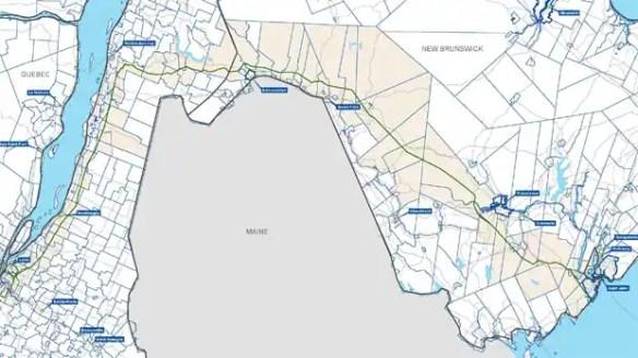 TransCanada Corp. may build 1,400 kilometres of pipeline, extending its capacity into Saint John.