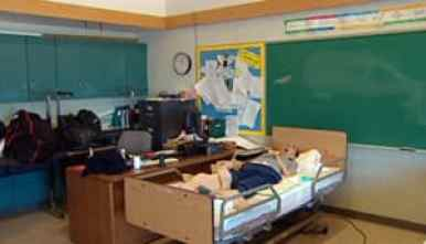 geriatric care for senior citizens in a high school