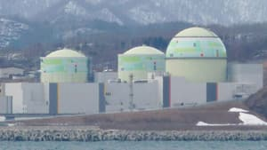 Japan will be free of atomic power when the Tomari No. 3 reactor is switched off for regular inspections.