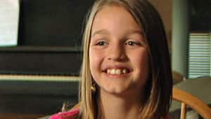 Victoria Grant, 12, is taking on the banking system with a YouTube speech that has gone viral.