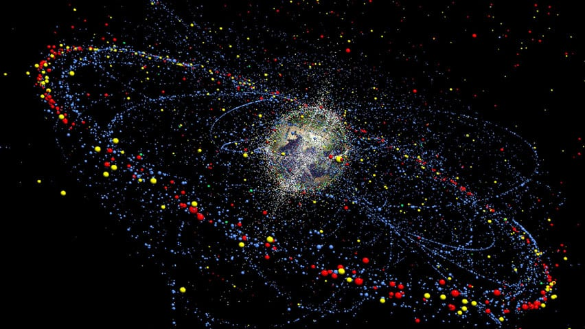 Image result for space debris