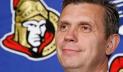 Craig Hartsburg has been fired as coach of the Ottawa Senators.