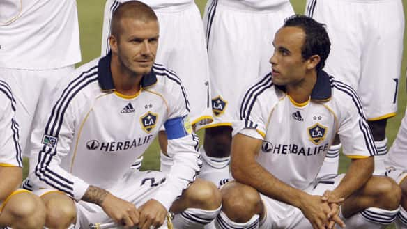 Donovan could learn a lot both on and off the field from Beckham
