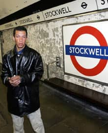 Cousin of De Menezes at Stockwell tube station