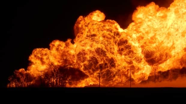 Image result for trans canada pipeline explosion manitoba