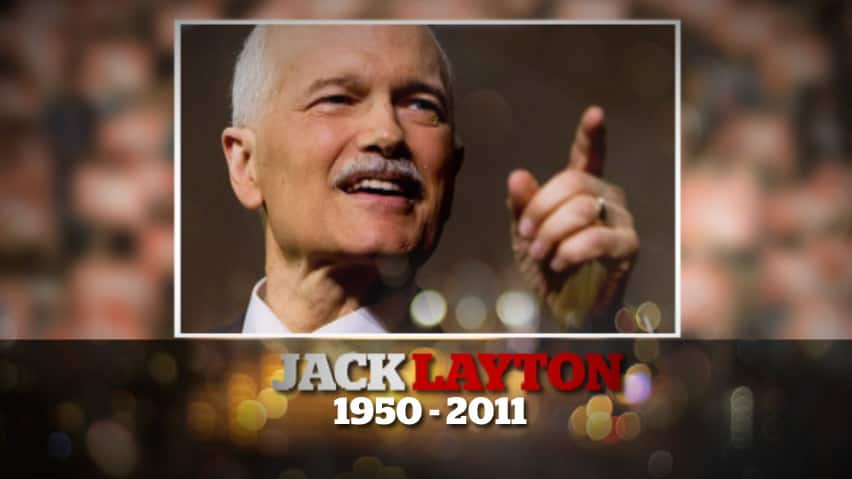 From his first election as a city councillor to his place in history as the first NDP Opposition Leader, a tribute to Jack Layton's colourful political career.
