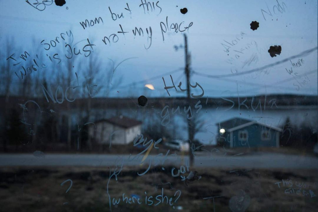 Looking out over the lake in Grassy Narrows. (Ed Ou/CBC)