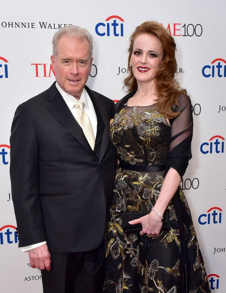 Robert Mercer and his daughter Rebekah seen at the 2017 TIME 100 Gala at Jazz at Lincoln Center in New York in April 2017. (Sean Zanni/Patrick McMullan via Getty Images)