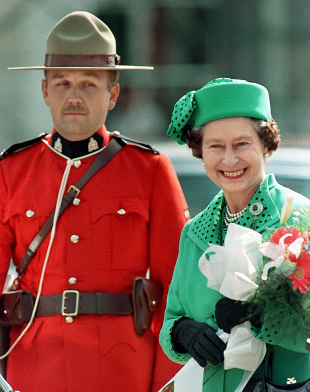 Image result for queen elizabeth canada