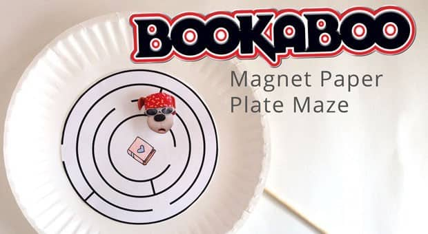 Bookaboo Paper Plate Magnet Maze  Play  CBC Parents