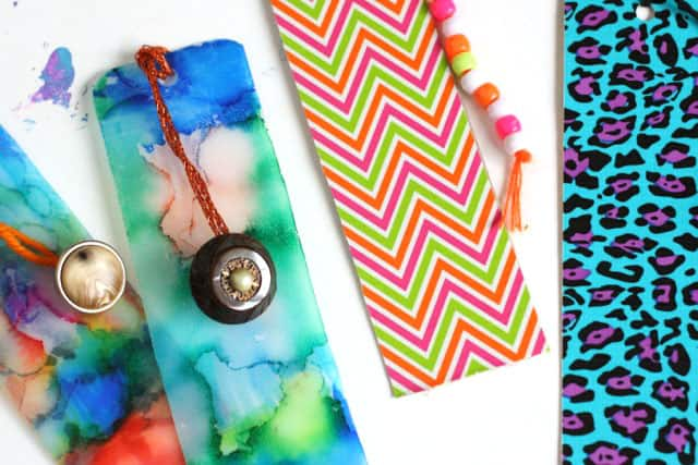 homemade bookmarks easy gifts