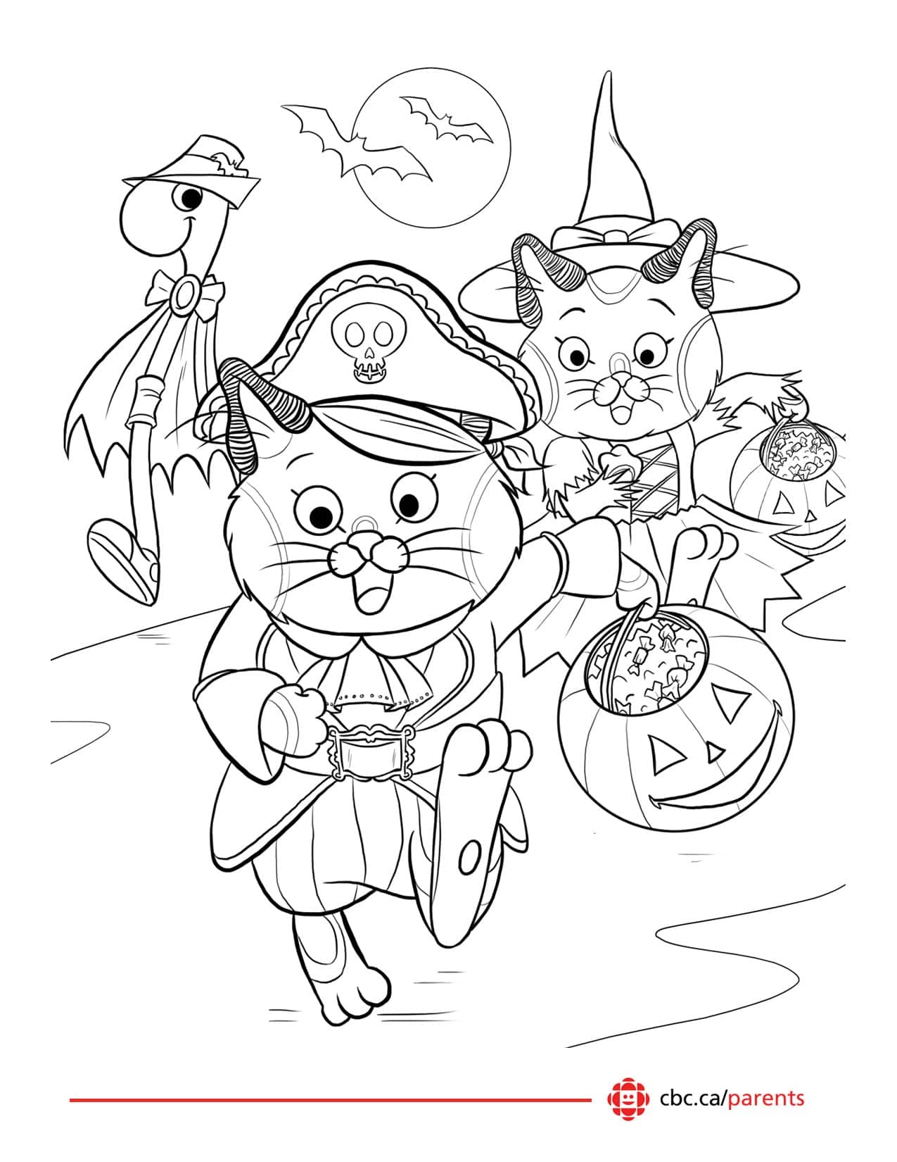 Halloween Cat Worksheet