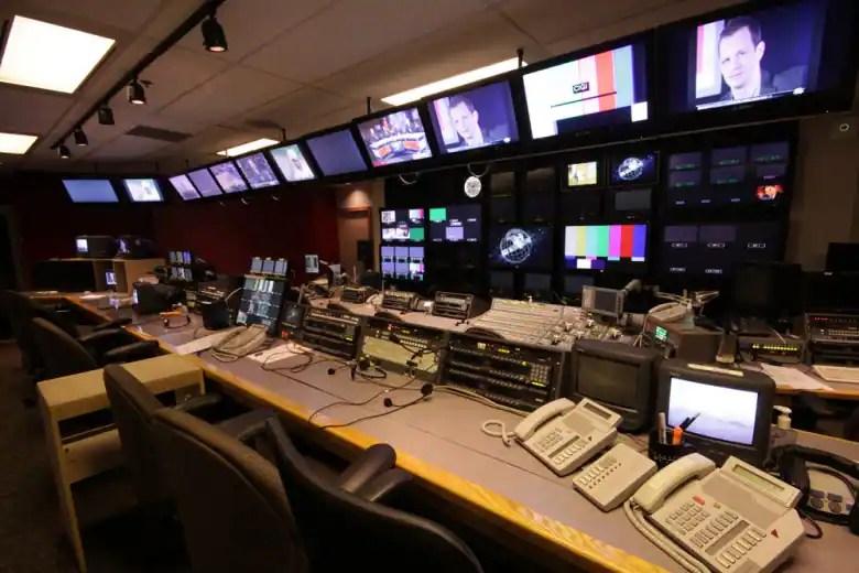 Control Room for Studio 42  CBC Production Facilities