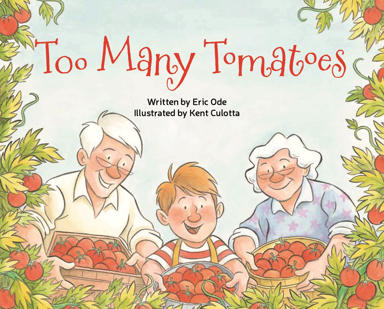 Image result for too many tomatoes book