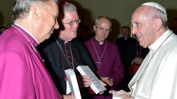 """Archbishop Bernard Longley reflects on """"remarkable and moving"""" two days of ecumenical encounter in Rome"""