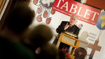 Archbishop Vincent Nichols gives the 2011 Tablet Lecture