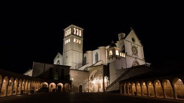 Pope Francis in Assisi for World Day of Prayer for Peace