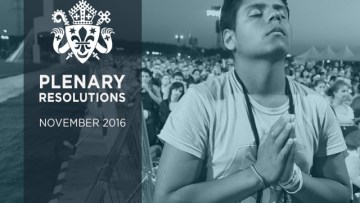 Eucharistic Pilgrimage and Congress for England and Wales	in 2018