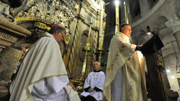 Patriarch Twal's Homily at Co-ordination Closing Mass in Jerusalem