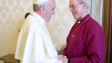 Pope Francis and Archbishop of Canterbury sign Common Declaration