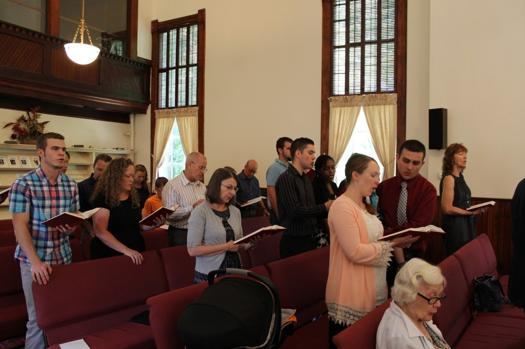 picture of baptism - our congregation