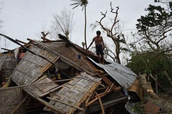 San Pablo, Isabela province, north of Manila on October 20, 2016. / AFP PHOTO / TED ALJIBE