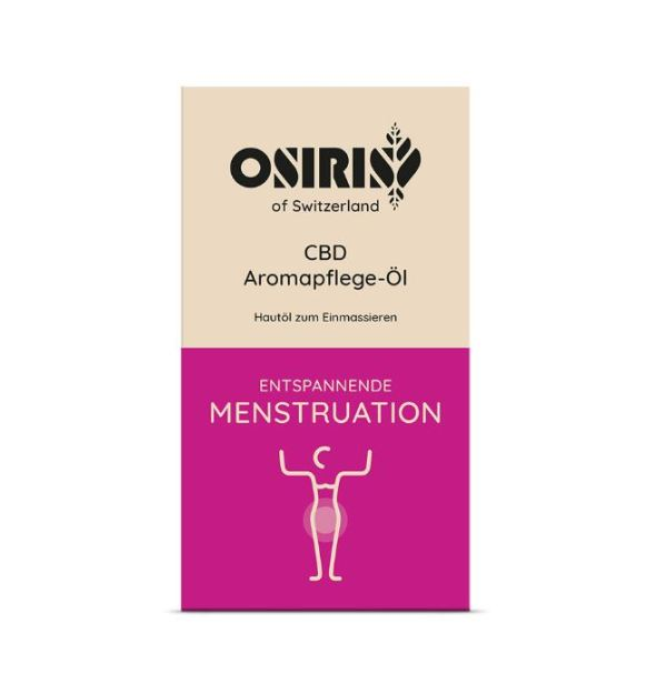 Osiris CBD AromaPflege Öl Menstruation