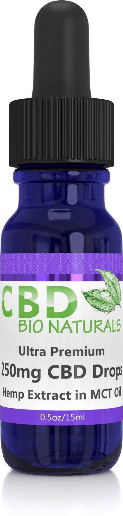 0.5oz 250mg CBD Hemp in MCT Oil