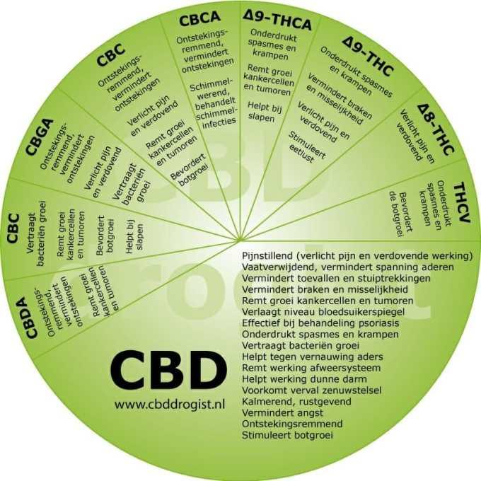 CBD voordelen