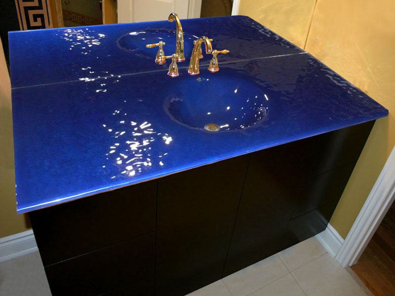 INTEGRATED GLASS SINK IS31  CBD Glass