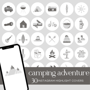 Camping Adventure | Instagram Highlight Covers