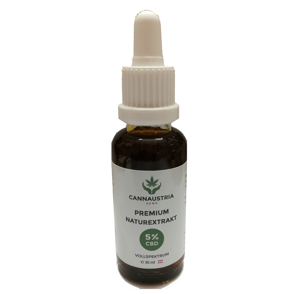 CannAustria 5% CBD Aroma Öl 30ml