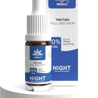 CBG olej/kvapky MedBax, 10 %