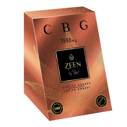 CBG olej ZEEN WORLD, 20 %