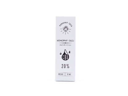 CBD olej/kvapky Konopný Táta, 20%