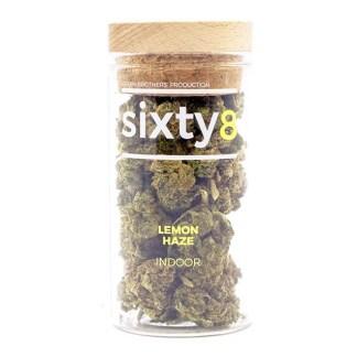 Švajčiarske CBD kvety Sixty8, Lemon Haze, 4g