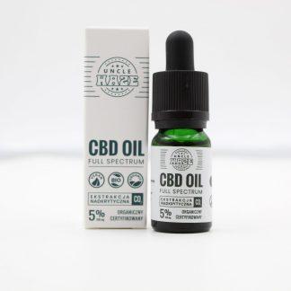 CBD olej/kvapky Uncle Haze, 5 %