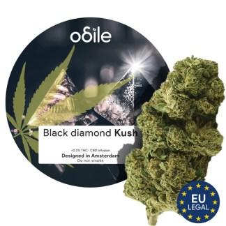 CBD kvety Odile, Black Diamond Kush, 3,5g
