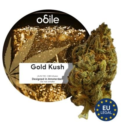 CBD kvety Odile, Gold Kush, 3,5g
