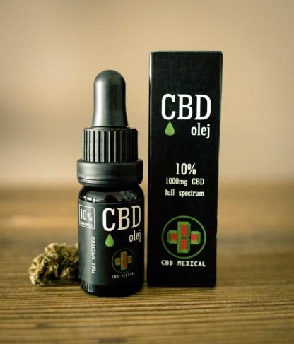 CBD olej/CBD kvapky CBD Medical, 10 %, 10ml