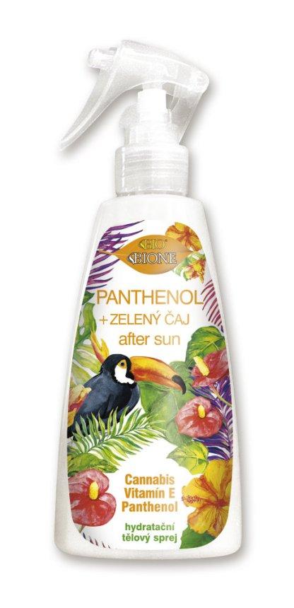 Sprej po opaľovaní Bione, Panthenol, Vitamín E, 260ml