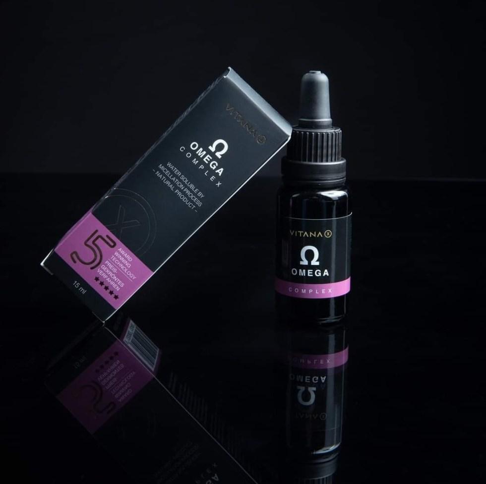 Omega kvapky VITANA-X, 3 + 6 + 9, 15ml
