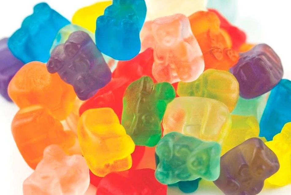 CBD gumené cukríky